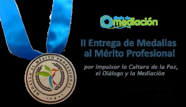 medalla mérito profesional