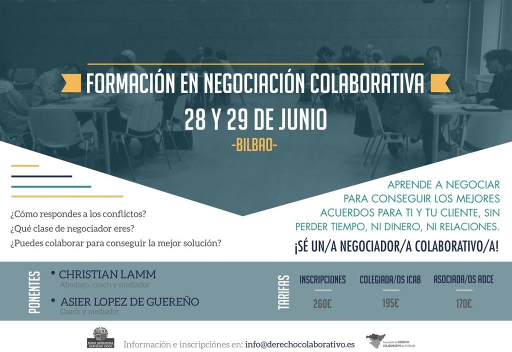 Negociacion colaborativa Bilbao Módulo 1