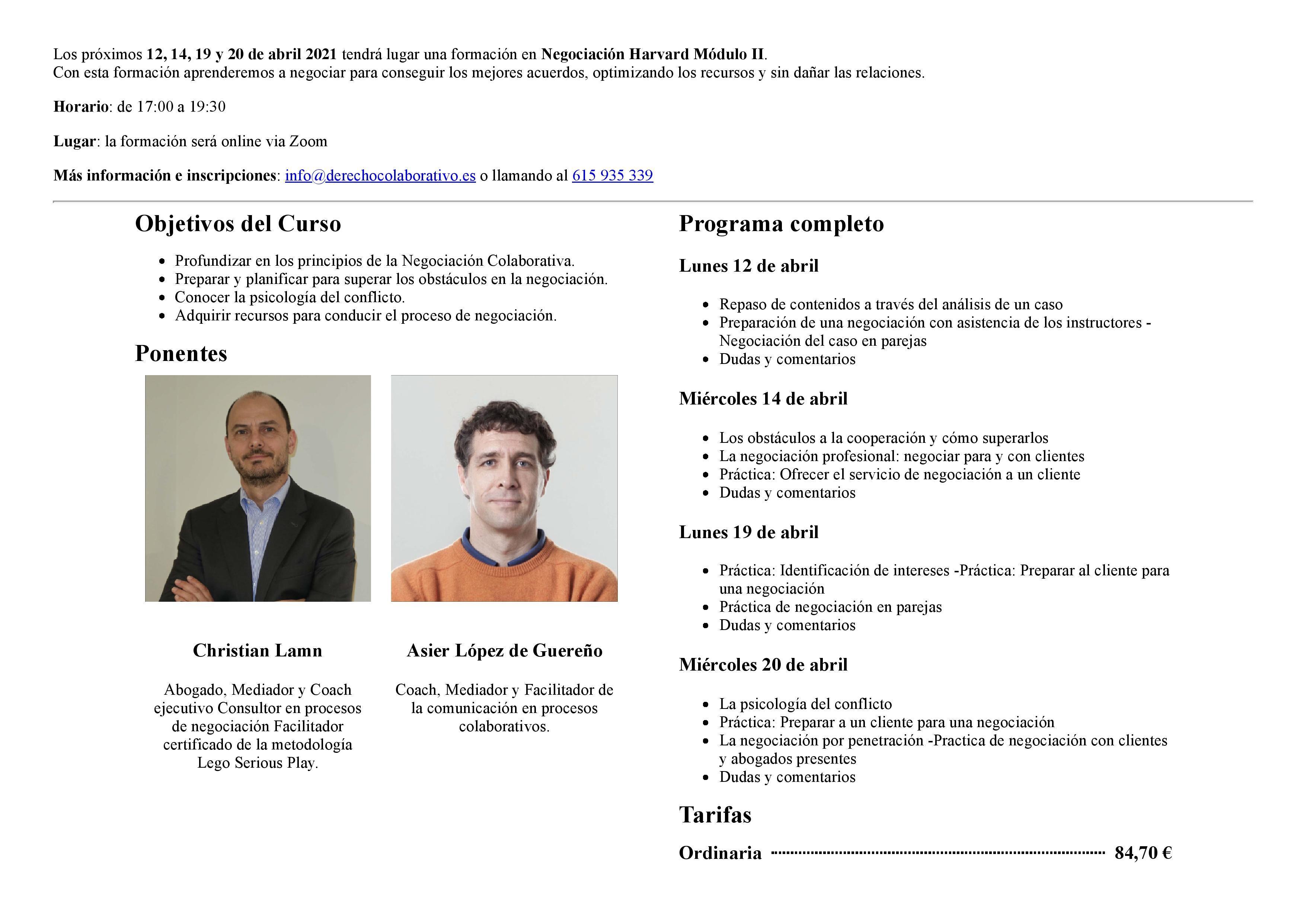 Formación en Negociación Harvard. Módulo II 2021– Online-page-001